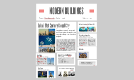 Modern buildings around the world