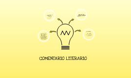 Copy of COMENTARIO LITERARIO