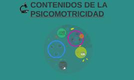 CONTENIDOS DE LA PSICOMOTRICIDAD.