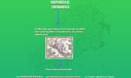 INDEPENDECIA DE CENTROAMÉRICA