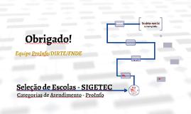Seleção de Escolas - SIGETEC