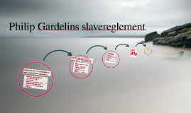 Philip Gardelins slavereglement