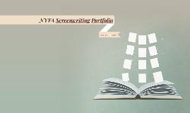 NYFA Screenwriting Portfolio