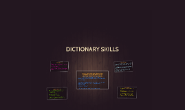 Copy of Dictionary Skills