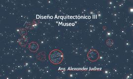 diseño arq III museo