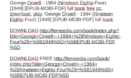 george orwell ebook italiano Amazon it
