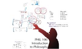 Phil 100 Syllabus - spring 2014