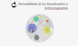 Permeabilidad de los Desodorantes y Antitranspirantes