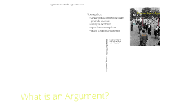 Copy of What is an Argument 1.3-6