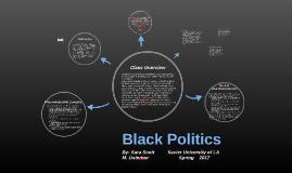 Black Politics Final Part 2