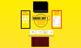HB 200 Day #1