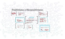 Copy of Positivismo e Neopositivismo