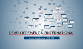 DEVELOPPEMENT A L'INTERNATIONAL