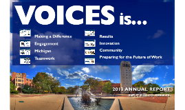 VOICES 2013 Annual Report