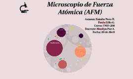 Copy of Microscopio de Fuerza Atómica (AFM)