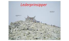 Copy of Lederprinsipper