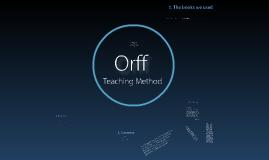 Orph Teaching Method