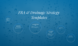 Copy of FRA & Drainage Strategy Templates