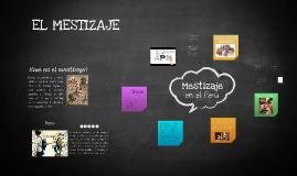 Copy of EL MESTIZAJE