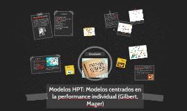 Modelos HPT: Modelos centrados en la performance individual