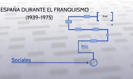 España durante el franquismo