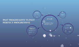 PAST PROGRESSIVE VS PAST PERFECT PROGRESSIVE