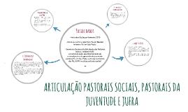 ARTICULAÇÃO PASTORAIS SOCIAIS, PASTORAIS DA JUVENTUDE E JUFR