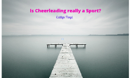 Is Cheerleading a Sport