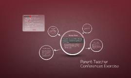Parent-Teacher Conferences Exercise