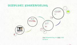 DISCIPLINES KINDERAFDELING