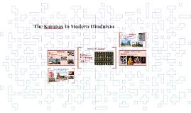 The Karanas in Modern Hinduism