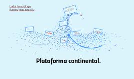 PLataforma continental, zona economica exclusiva y Estados s