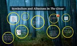 symbolism on the giver In this activity, students discuss and analyze the symbols in the book, the giver  by lois lowry they analyze and evaluate which symbol is the most revealing.