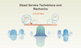 Diesel Service Technicians and Mechanics