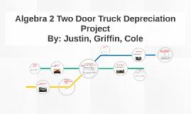 Copy of Algebra 2 Car Depreciation Project