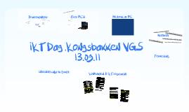 IKT Dag ,Kongsbakken VGS