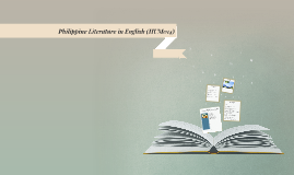 PHILIPPINE LITERATURE IN ENGLISH (HUM014)