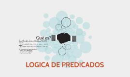 LOGICA DE PREDICADOS