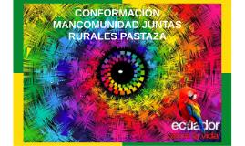 MANCOMUNIDAD PROVINCIA DE PASTAZA