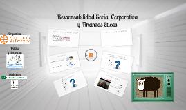 Responsabilidad Social Corporativa y Finanzas Éticas