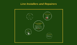 Line Installers and Repairers