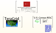 Social Science Gateway to TeraGrid @ Cornell University