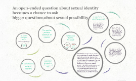 Open-ended question about sexual identity