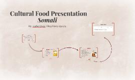 Cultural Food Presentation