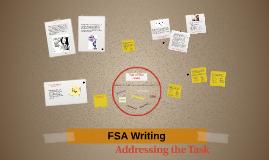 FSA Writing