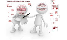 5 Základní techniky sběru dat; dotazník