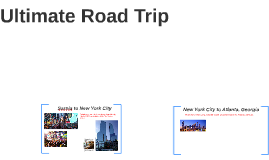 Ultimate Road Trip
