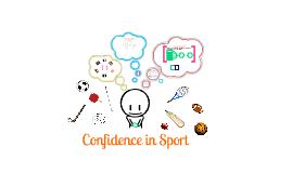 A-Level PE: Confidence in sport