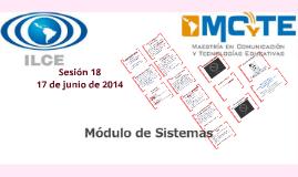 Sesión 18 (Módulo de Sistemas) 2014