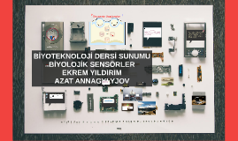 Copy of BİYOSENSÖR